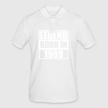 1989 - Anniversaire Bday - Polo Homme