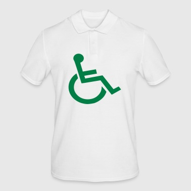 Wheelchair wheelchair - Men's Polo Shirt
