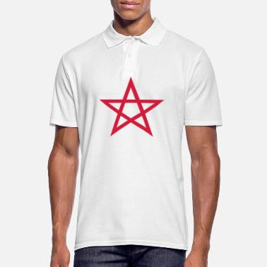 Wicca Pentagramme Wicca - Polo Homme