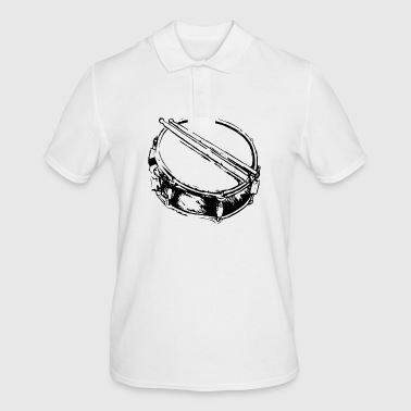 Snare - Drum - Percussion - Music - Men's Polo Shirt