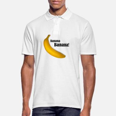 Banana Banana Banana. Gift idea - Men's Polo Shirt