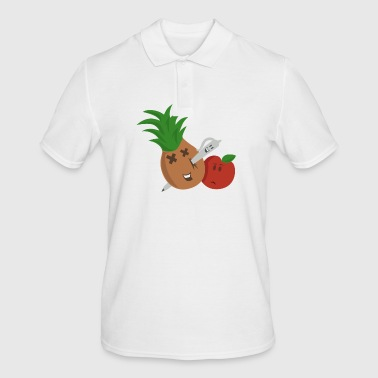 Pen ananas Apple Pen - Mannen poloshirt