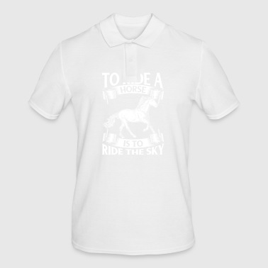 To Ride A Horse Is To Ride The Sky - Men's Polo Shirt