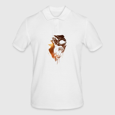 Heavy Metal Ghoul Skull Gift for Metalheads - Men's Polo Shirt