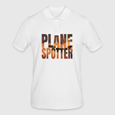 Jet Avion Avion Spotter photo Design Jet de combat Jet - Polo Homme
