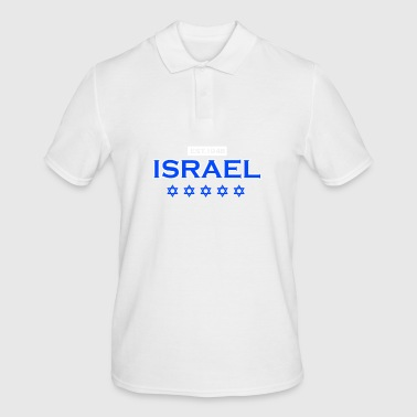 Israel - est. 1948 - Gift Jews Star of David - Men's Polo Shirt