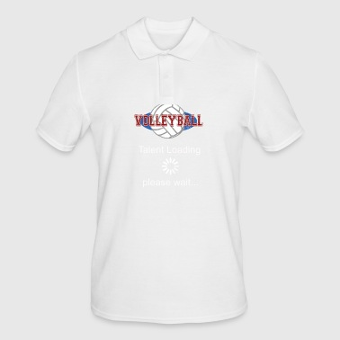 Volleybal talent wordt geladen gift - Mannen poloshirt