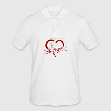 Volleybal is mijn Valentine Shirt Gift - Mannen poloshirt