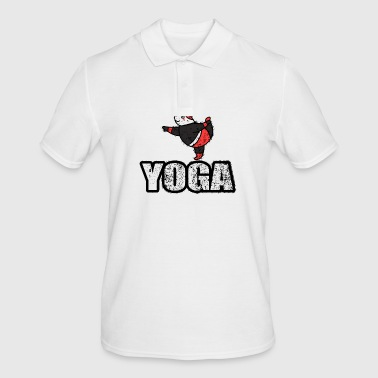 Dancing Yoga bjørn Vintage Retro New Age - Poloskjorte for menn
