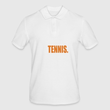 Tennis tennis court tennis player tennis ball - Men's Polo Shirt