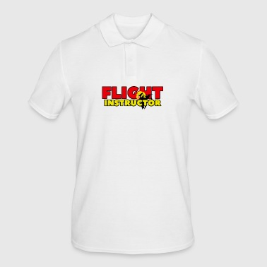 FLIGHT INSTRUCTOR - Männer Poloshirt