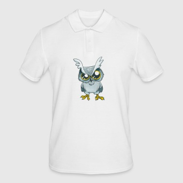 Fluff vous Fluffin Fluff Drôle Owl Rude - Polo Homme