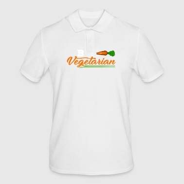 Be Vegetarian - Men's Polo Shirt