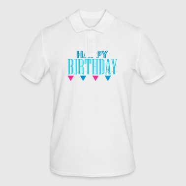 HAPPY BIRTHDAY - Herre poloshirt