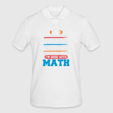 maths - Men's Polo Shirt
