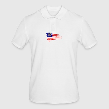 Fallout 76 USA Flag - Men's Polo Shirt