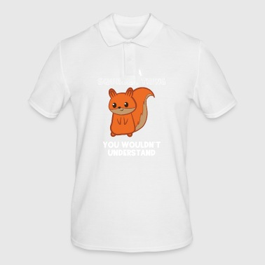 Squirrel Squirrel - squirrel fan - squirrel - Men's Polo Shirt