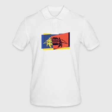 Spinne Pop-art - Männer Poloshirt