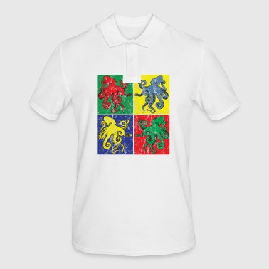 Pop Art Octopus Apparence - Polo Homme