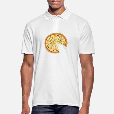 Officialbrands The Missing Pizza Scampi - Matching Couple Love - Männer Poloshirt