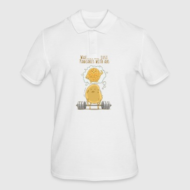 pancake pun - Men's Polo Shirt