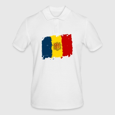 Andorra bandera - Andorra flag - Men's Polo Shirt