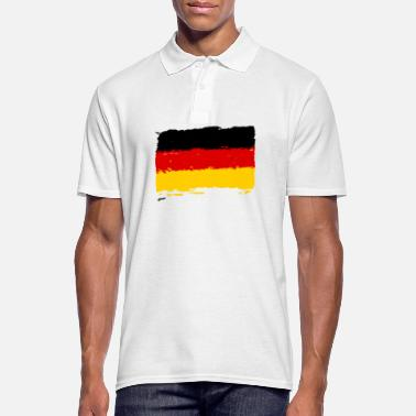German Flag Deutschland Flagge - German flag - Männer Poloshirt