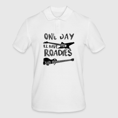 Guitar One Day Roadies - Men's Polo Shirt