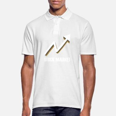 Stock Market Stock market arrow gift stock market market - Men's Polo Shirt