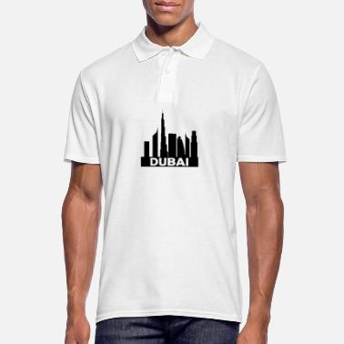Mouth Dubai skyline - Men's Polo Shirt