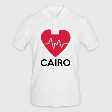 heart Cairo - Men's Polo Shirt