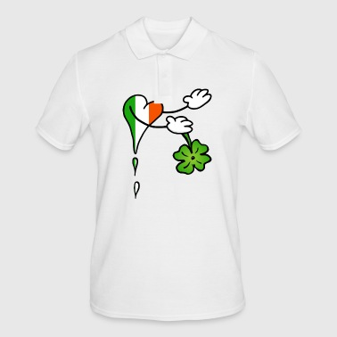 Heart Welcome Ireland Shamrock - Men's Polo Shirt