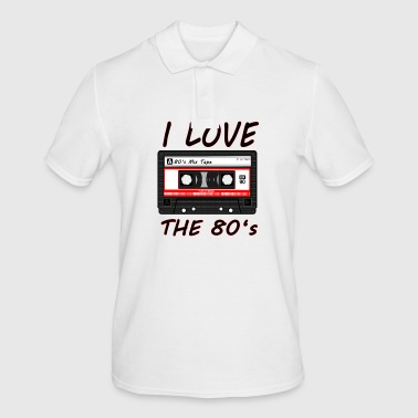 I Love The 80's 80s, 80s, 80s, jazz, music - Men's Polo Shirt