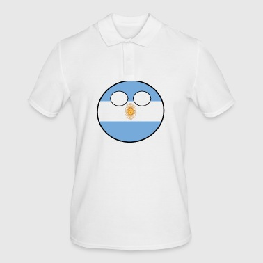 Country bal Country bal Country geboorteland Argentinië - Mannen poloshirt