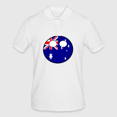 Country bal Country bal Country geboorteland Australië - Mannen poloshirt
