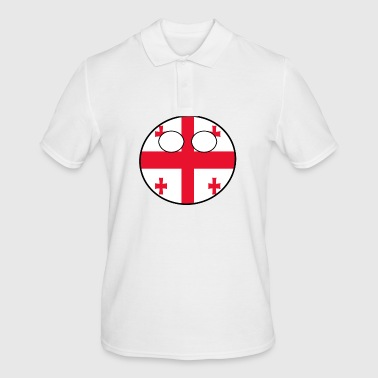Country bal Country inheemse Georgia - Mannen poloshirt
