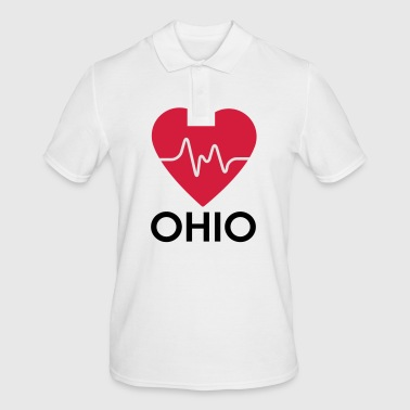 heart Ohio - Men's Polo Shirt
