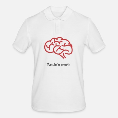 Worker Brain's work - Polo Homme