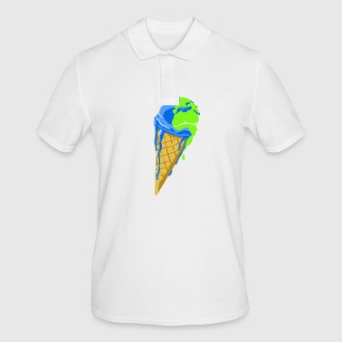 naturecontest planete_who warmt op. - Mannen poloshirt