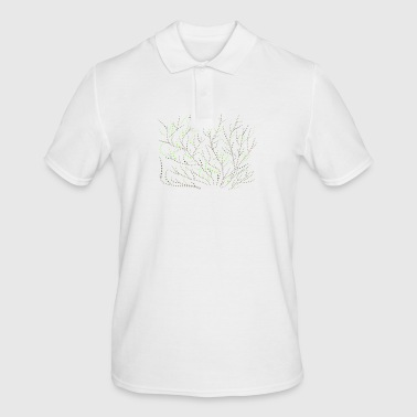 Bush Bush of dots - Men's Polo Shirt