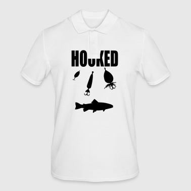 hooked - Men's Polo Shirt