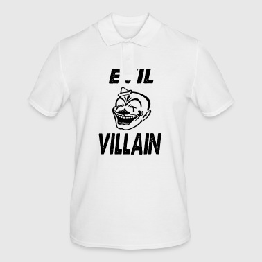 evil villain - Men's Polo Shirt