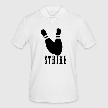 strike bowling - Men's Polo Shirt