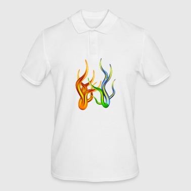 abstract decoration - Men's Polo Shirt