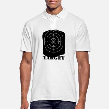 Target target blak - Polo Homme