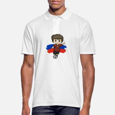 Mascotte SOCCER - FANSHIRT - BOWIEDESIGNS - MASCOT - Polo Homme