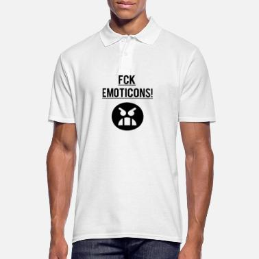 Emoticon Emoticons Emojis - Männer Poloshirt