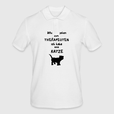 Therapist cat - Men's Polo Shirt