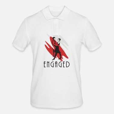 Engagement Engaged - Men's Polo Shirt