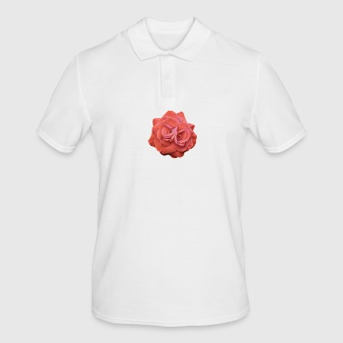 Red rose - Men's Polo Shirt